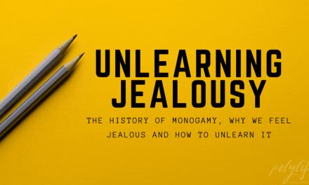 Unlearning Jealousy.