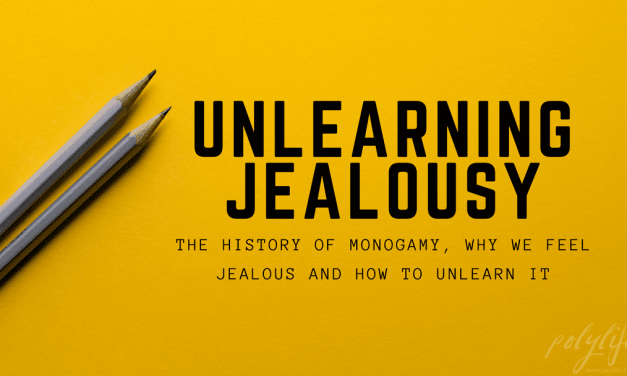 Unlearning Jealousy.